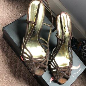 Nina Farrah sling back heel